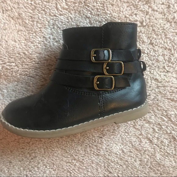 Toddler Size 7 Navy Suede Boots Kids' Clothing, Shoes & Accs
